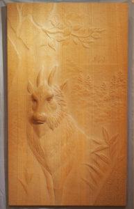 井波彫刻オーダーメイドの木彫インテリア