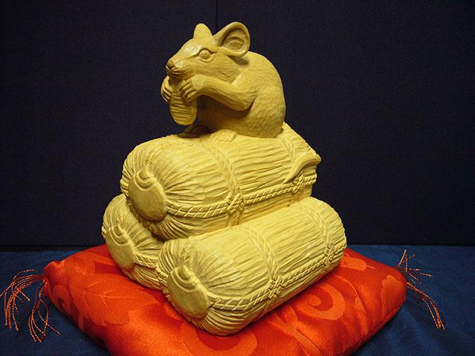 オーダーメイドの井波彫刻子