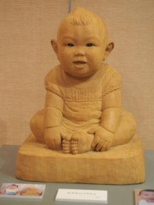 オーダーメイド そっくり木彫り人形