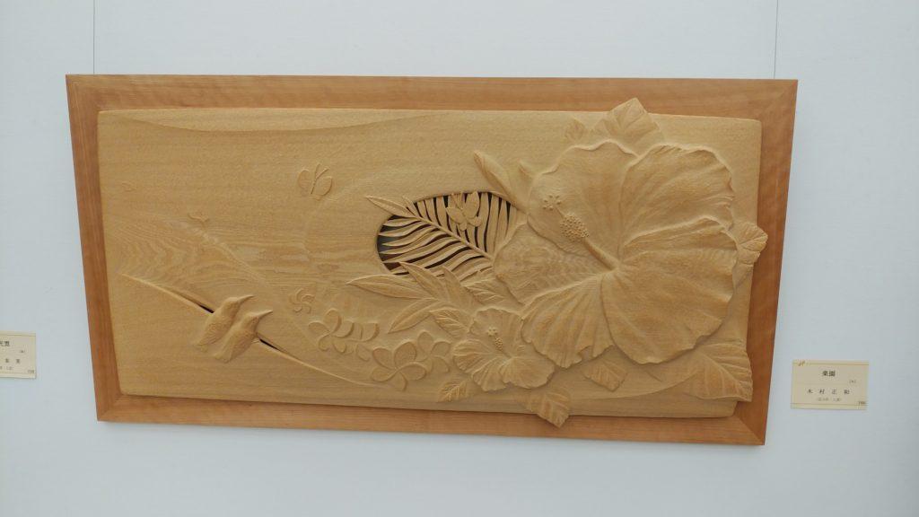 オーダーメイドの井波彫刻の木彫レリーフ