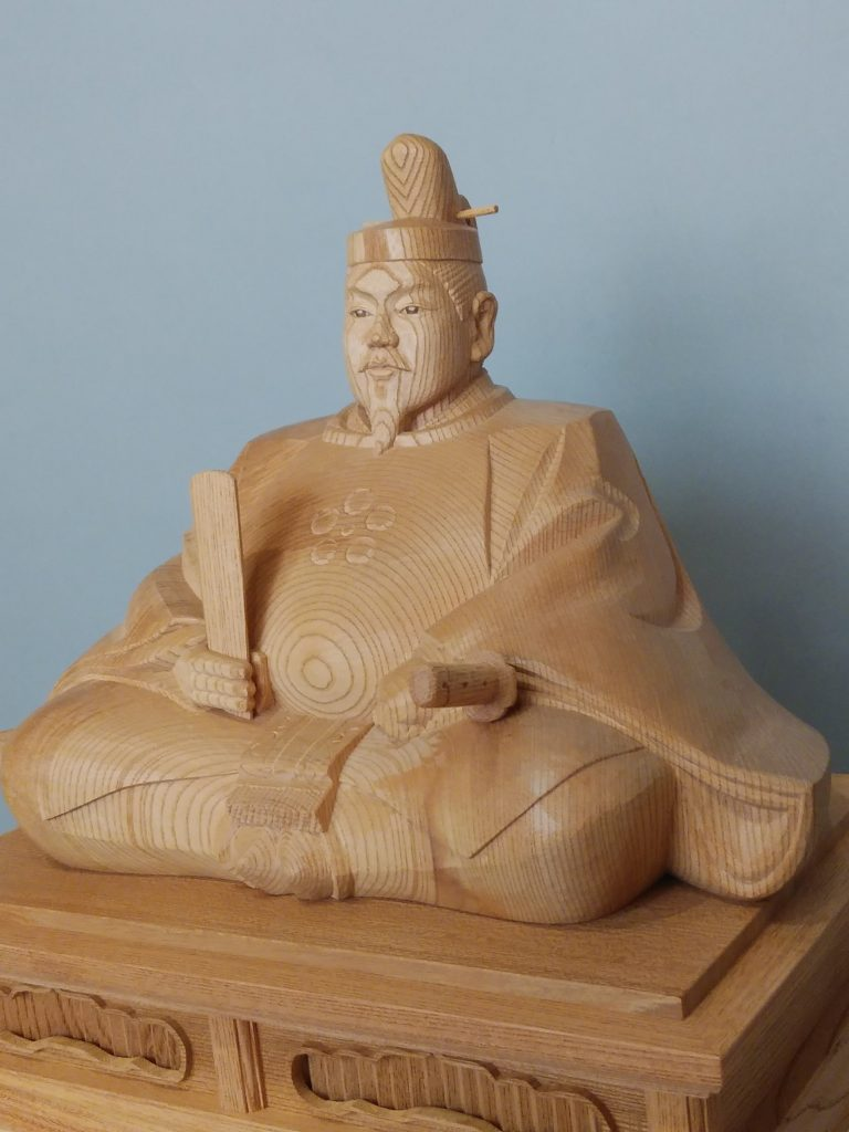 木彫の受注制作の井波彫刻天神様