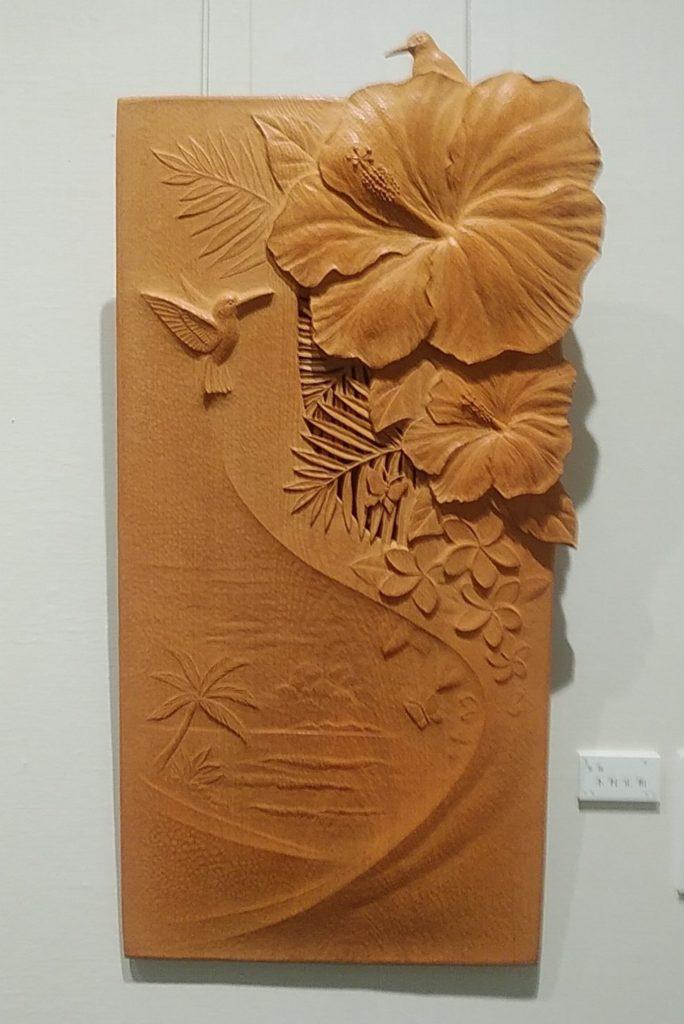 木彫レリーフ 作品
