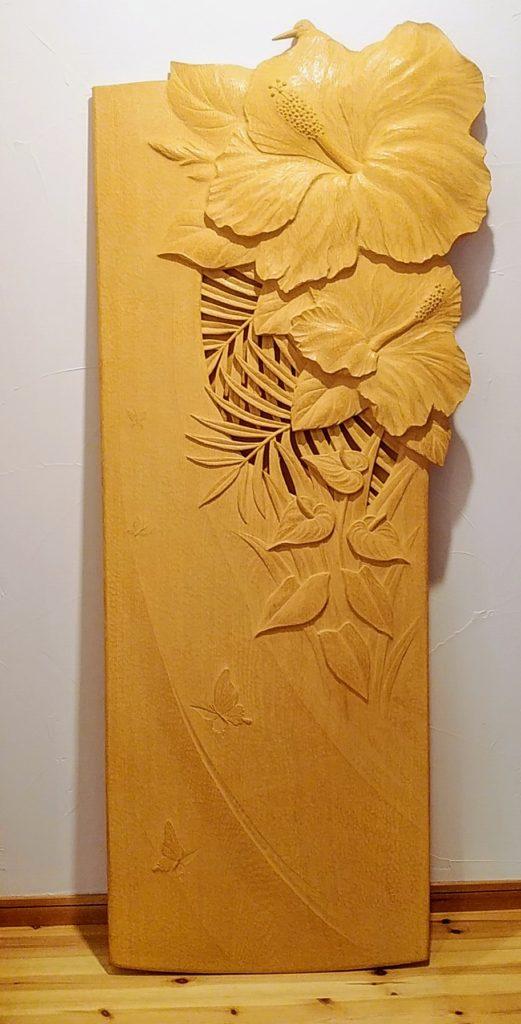 井波彫刻オーダーメイド 木彫インテリア