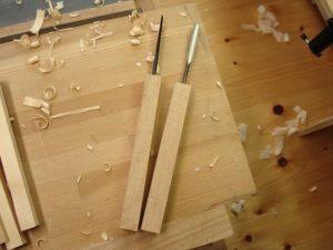 受注制作に使う木彫用彫刻刀
