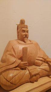 木彫 井波彫刻 天神様