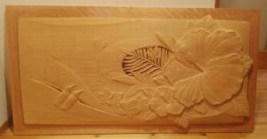 井波彫刻オーダーメイドの木彫レリーフ
