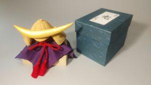 木彫り兜 オーダーメイドの井波彫刻