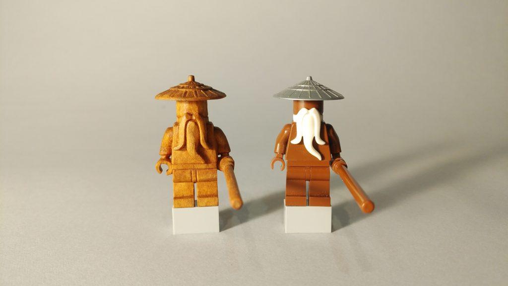 井波彫刻の木彫オーダーメイドLEGO