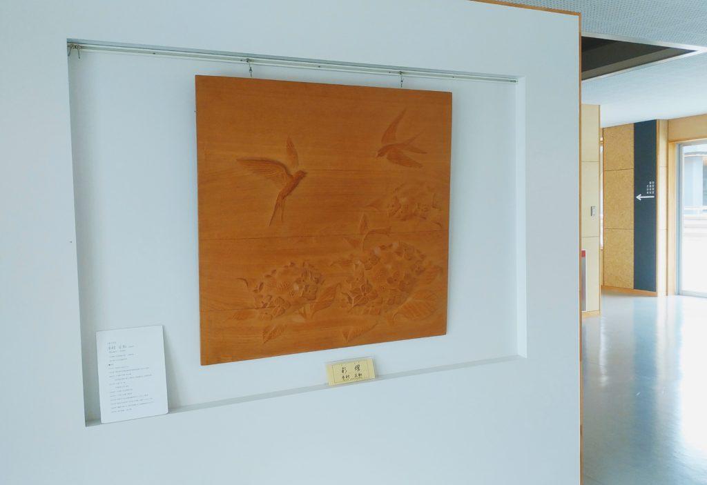 オーダーメイドの井波彫刻木彫レリーフ