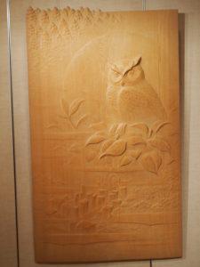 オーダーメイドの木彫インテリア